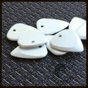 Fusion Tones - Silver - 4 Guitar Picks | Timber Tones